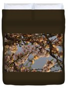 New Blossoms - Old Almond Tree Duvet Cover