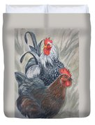 New Chick In Town Duvet Cover