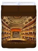 New Covent Garden Theatre Duvet Cover