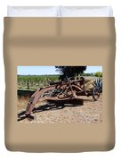 New Crop Antiquated Grader Duvet Cover