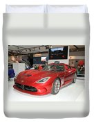 New Dodge Viper Duvet Cover