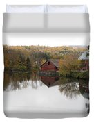 New England Autumn Two Duvet Cover
