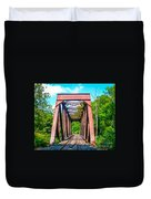 New England Bridge Duvet Cover