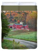New England Farm Square Duvet Cover