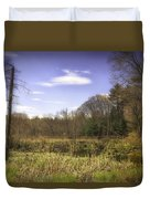 New England Wetland Duvet Cover