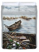New England Wharf Duvet Cover