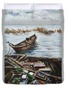 New England Wharf Duvet Cover