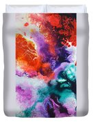 New Freedom Canvas One Duvet Cover