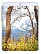 New Generation - Mixed Media - Casper Mountain - Casper Wyoming Duvet Cover