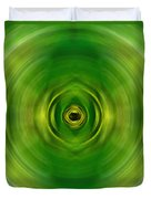 New Growth - Green Art By Sharon Cummings Duvet Cover