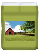 New Hampshire Barnyard Duvet Cover