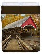 New Hampshire Covered Bridge Duvet Cover