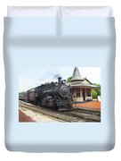 New Hope Station Duvet Cover