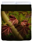New Leaves For Napanee Duvet Cover