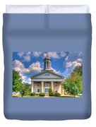 New London Courthouse Duvet Cover
