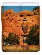 New Mexico Art Duvet Cover