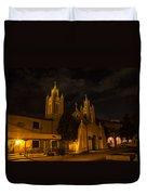 New Mexico Church Night Duvet Cover