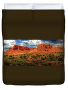 New Mexico Mountains 2 Duvet Cover