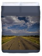 New Mexico Road 7 Duvet Cover