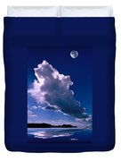 New Mexico Sky Duvet Cover by Jerry McElroy
