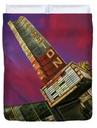 New Mission Theater San Francisco Duvet Cover