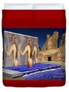 New Monument For The 3 Goddesses Duvet Cover