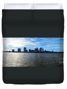 New Orleans - Skyline Of New Orleans Duvet Cover