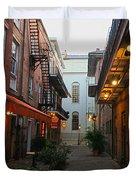 New Orleans Ally Duvet Cover