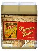 New Orleans - Bourbon Street 14 Duvet Cover