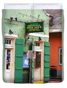New Orleans - Bourbon Street 4 Duvet Cover