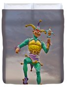 New Orleans - Canal Street Ferry Jester Duvet Cover by Christine Till