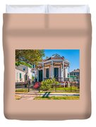 New Orleans Charm Duvet Cover