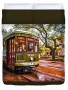 New Orleans Classique Oil Duvet Cover