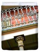 New Orleans Column Duvet Cover