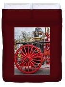 New Orleans Fire Department 1896 Duvet Cover