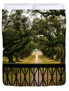 New Orleans Live Oak Duvet Cover
