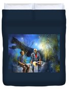 New Orleans Nights 02 Duvet Cover