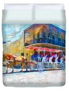 New Orleans Series 53 Duvet Cover