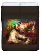 New Orleans Spotted Cat 05 Madness Duvet Cover