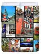 New Orleans Duvet Cover