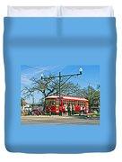New Orleans Streetcar Duvet Cover