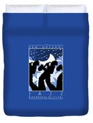 New Orleans Vintage Jazz And Heritage Festival 1980 Duvet Cover