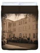 New Perry Hotel In Sepia Duvet Cover