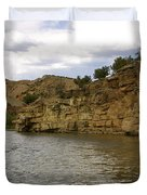 New Photographic Art Print For Sale Banks Of The Rio Grande New Mexico Duvet Cover