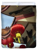 New Photographic Art Print For Sale Downtown Chinatown Duvet Cover