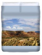 Ghost Ranch Landscape New Mexico 12 Duvet Cover