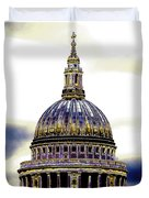 New Photographic Art Print For Sale   Iconic London St Paul's Cathedral Duvet Cover