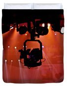 New Photographic Art Print For Sale Lights Camera Action Backstage At The American Music Award Duvet Cover