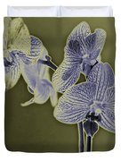 New Photographic Art Print For Sale Orchids 10 Duvet Cover