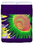 New Photographic Art Print For Sale Pop Art Sunflower 2 Duvet Cover